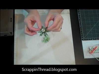 Making Paper Rosettes using Spellbinders Dies.wmv