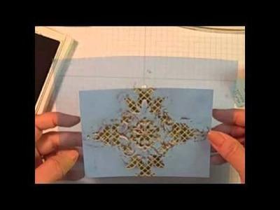 Masculine Cards - Stampin' Up' Designer Paper Technique