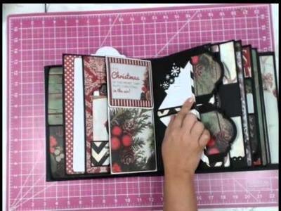 My Design Mini Album- Countdown to Christmas