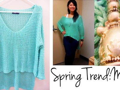 Outfit of the Day: Spring Trend Mint {Lulus}