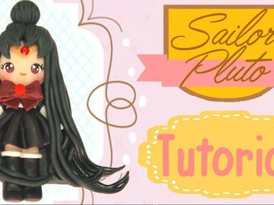 Sailor Pluto Chibi | Polymer Clay Tutorial
