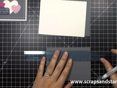 Stampin' Up! Tutorial - Quick Fix Quick Tricks - 01.04.2013 - Scraps & Stamps