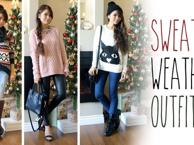 Sweater Weather Outfit Ideas ♥ Fall Fashion Lookbook