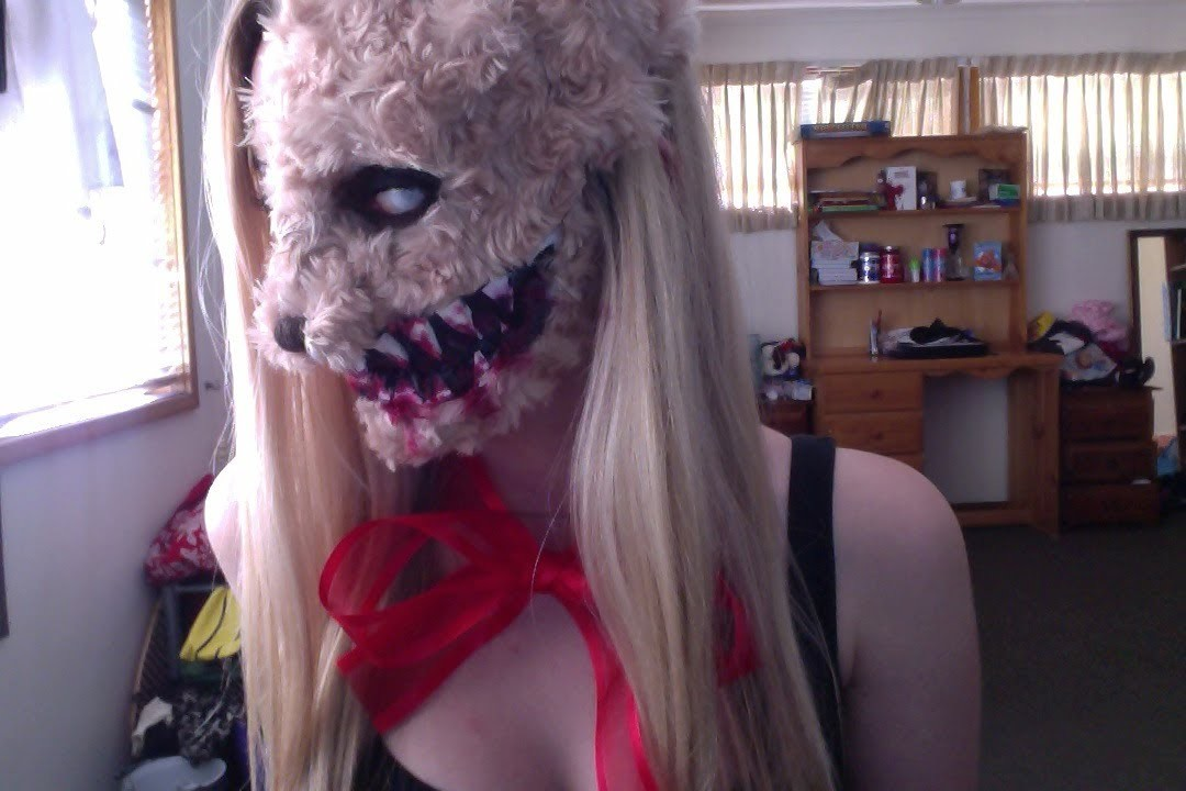 Teddy Bear Girl Halloween Tutorial