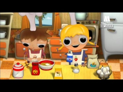 Telmo and Tula - Chocolate cookies recipes - Educational cartoon with ideas to cook with children