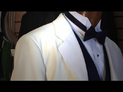 The Proper Wear of a Wing Tip Tuxedo Shirt : Tuxedos