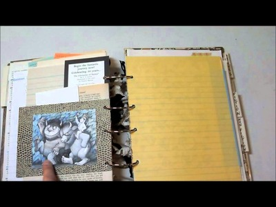 Book junk journal for Zio