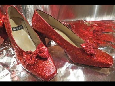 Dorothy's Ruby Red Slippers tutorial  EASY