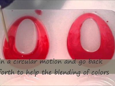How to create ombre style resin jewelry