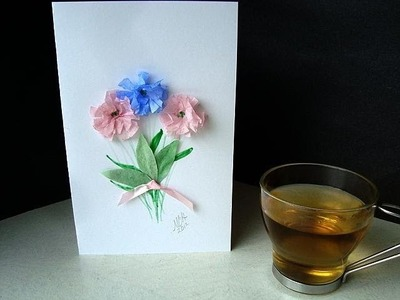 HOW TO MAKE A SIMPLE GREETING CARD