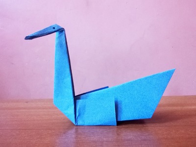 How to Make a Simple Paper Swan