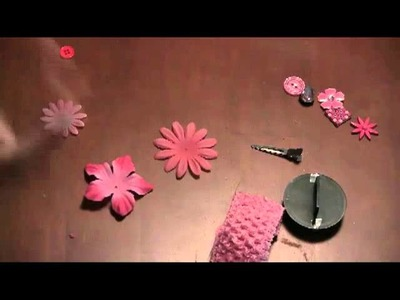 How to Make Hair Bows: Flower Hair Bow on Headband Instructions