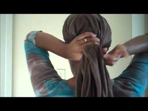 Natural Hair Tips- Head Wrapping