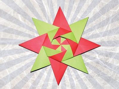 3D Modular Origami Star Ball