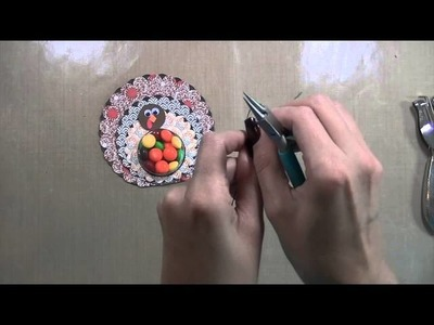 Thanksgiving Treat Holder and Place Card Tutorial