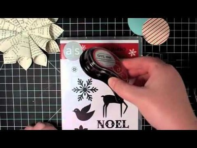 12 Days of Christmas Ornaments Day 9 - Old-Fashioned Rolled Paper Star