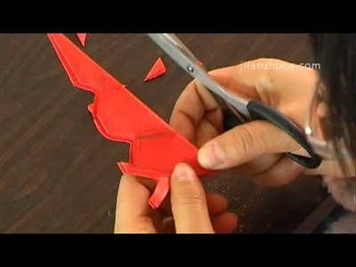 3756 How To Make the Paper Cut For Window Decoration II