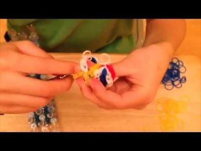 3D Rainbow Loom Bouncing Ball Part 2