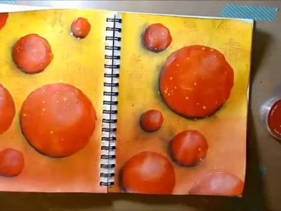 Art Journal Page-I hate the sun by Imperfect Impulses