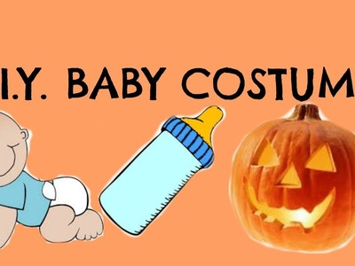 Baby D.I.Y costume for Halloween