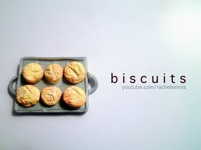 BREAKFAST BISCUITS - Polymer Clay Tutorial