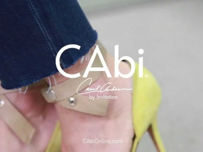 CAbi: How to Fray Your Denim DIY Tutorial