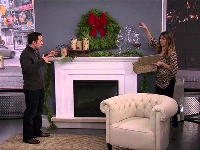 Christmas decorations for your fireplace mantle