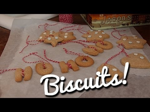 Cinnamon Biscuit Christmas Decorations - Crumbs