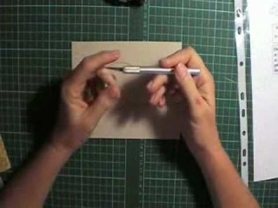 Corner folding tips and techniques part 1