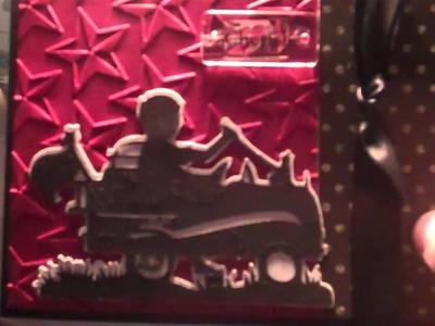 Cricut Card Making Idea From A Child's Year Cricut Cartridge Wagon Card