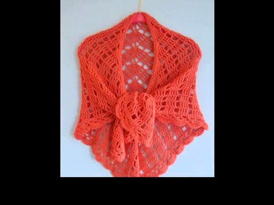Crochet shawl free patterns