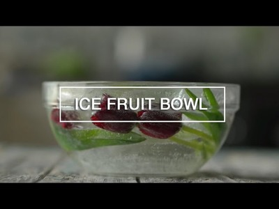 DIY How to Make an Ice Bowl - Green Renaissance