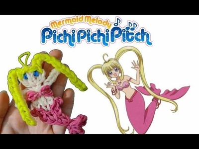 Diy sirena con elastici  rainbowloom mermaid melody lucia