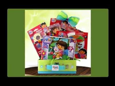 Dora The Explorer fun Pack Best Birthday Gift Basket Ideas GiftBasket4Kids