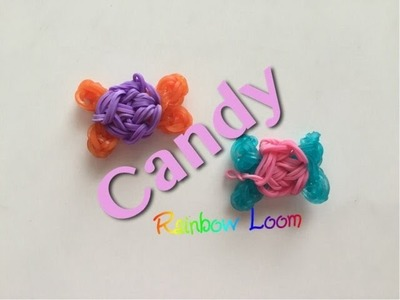 EASY Rainbow Loom Candy Charms