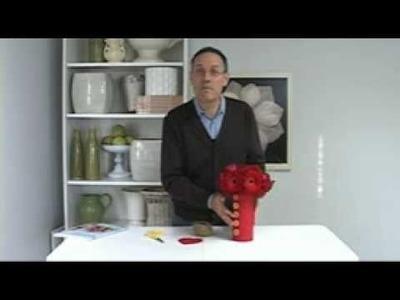 FR Presents: Dress Up a Glass Cylinder Vase