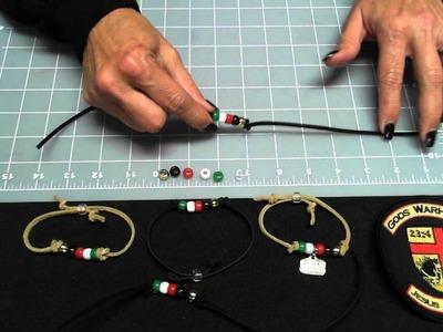 Gods Warhorse How to make Salvation Bracelets.wmv