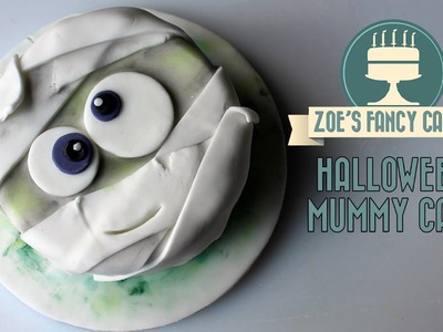 Halloween Mummy cake How To Cake Tutorial