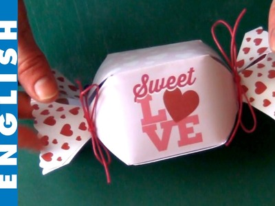 Hand made Candy box (Download pattern)