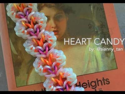 HEART CANDY Hook Only bracelet tutorial