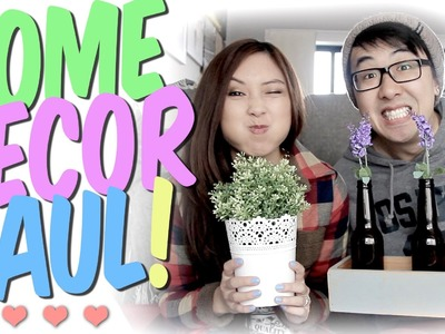 Home Decor HAUL featuring the Fiancee!