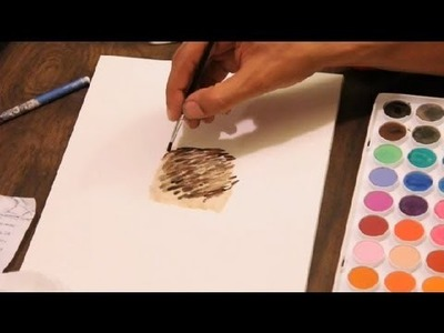 How to Create Fur With Watercolors : Art Tutorials