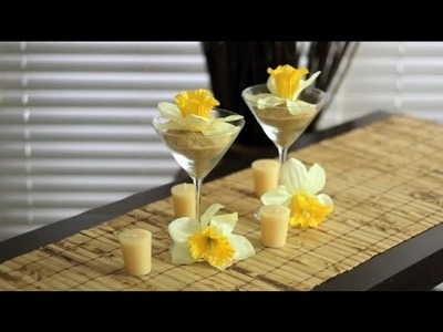 How to Decorate Martini Glasses : Decorations for the House