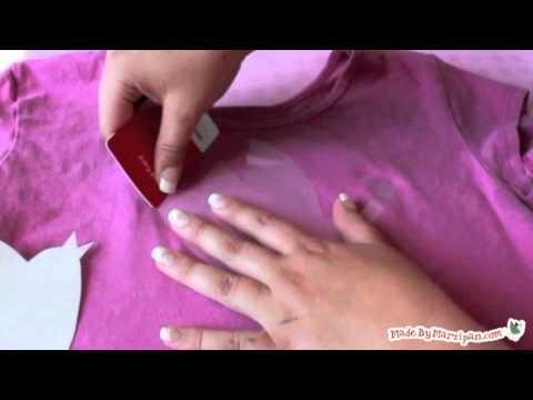 How To Make A Bleach Resist T-Shirt