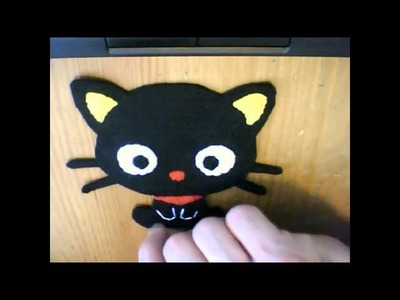 How to make a Chococat plush tutorial