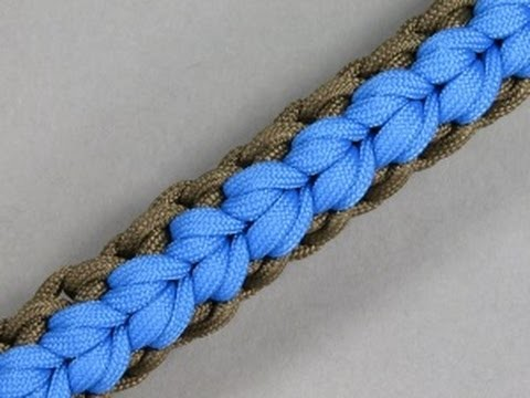 How to make a Geyser Falls Paracord Sinnet Tutorial(Paracord 101)