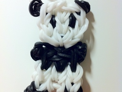 How to Make a Panda Bear Rainbow Loom Charm