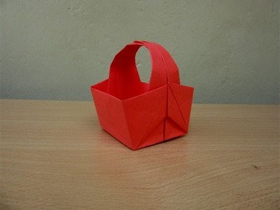 How to Make a Paper Easter Basket - Easy Tutorials