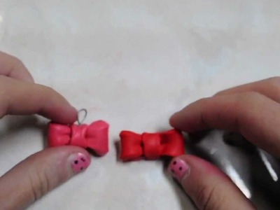 How to Make a Polymer Clay Bow