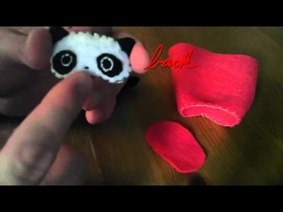 How to make a Tarepanda on Suama plush tutorial